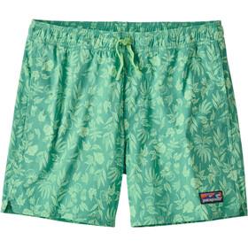 "Patagonia Stretch Wavefarer Volley Shorts 16"" Herren fiber flora/light beryl green"